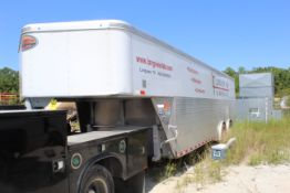 TOOL TRAILER, 2019 SUNDOWNER TRAILERS, 12,500 lb. G.V.W.R., approx. 24'L., w/contents, TX License