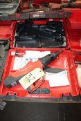 POWDER ACTUATED FASTENING NAIL GUN, HILTI MDL. DX5