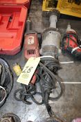 LOT OF ELECTRIC STRAIGHT GRINDERS