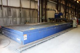 CNC PLASMA & OXY/FUEL CUTTING SYSTEM, MESSER PLATEMASTER II, mfg. 2018, installed 2019, Messer