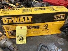 ELECTRIC RECIPROCATING SAW, DEWALT, MDL. DWE305 (NEW IN BOX)
