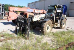 TELEHANDLER, INGERSOLL RAND MDL. VR638, 6,700 lb. cap, 38' lift height