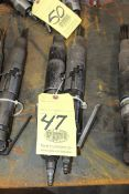 LOT OF PNEUMATIC NEEDLE SCALERS (2)