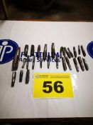 LOT OF (25) ASSORTED, INCH, MACHINE TAPS