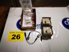 LOT OF OMRON, CQM1-CPU21-E, PLC UNITS WITH SUPPORT ACCESSORIES