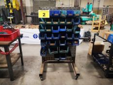 BRIGHTON, DOUBLE SIDED HARDWARE RACK WITH ASSORTED INCH BOLTS