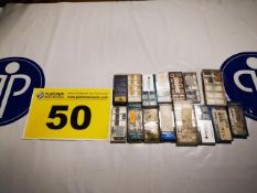 LOT OF (14) SECO & INGERSOLL, INDEXABLE TOOL INSERTS