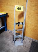 CYLINDER, 2 WHEELED, DOLLY, 5 FT, STEEL