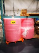 ANTI-STATIC BUBBLE WRAP - 3 NEW ROLLS AND 1 ROLLS WITH 80 PERCENT LEFT