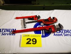 LOT OF ASSORTED PIPE WRENCHES