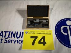 "MITUTOYO, 0-1"" (0-25MM )DIGITAL MICROMETER, MDL 293-701, NEW IN BOX"