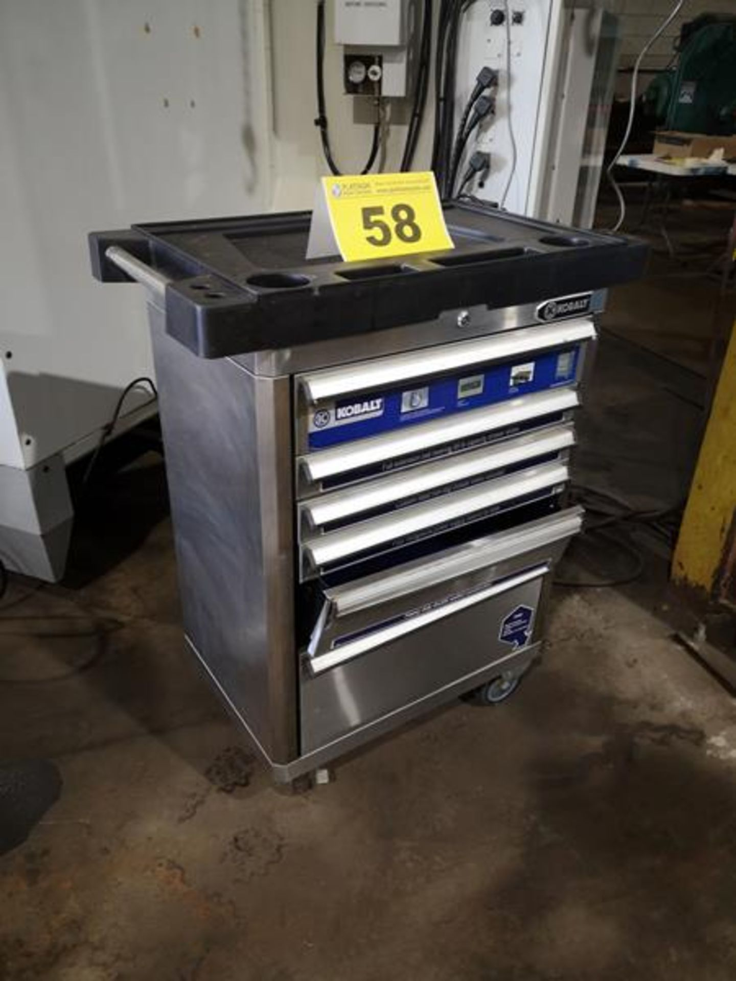 KOBALT, 6 DRAWER TOOL CABINET ON CASTERS( 1 DRAWER REQUIRES REPAIR) - Image 2 of 2