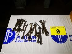 LOT OF ASSORTED INCH WRENCHES