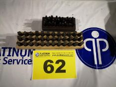 LOT OF LAYOUT NUMBER TRANSFER PUNCHES