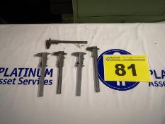 """LOT OF ACCUSIZE, 0 - 6"""" CALIPERS"""