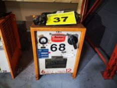 GOULD, 6 GTD 550/825, FORKLIFT BATTERY CHARGER, 12 VOLT DC, 90 AMP, 6 CELL 550 AH, 208 VAC 1PH 10