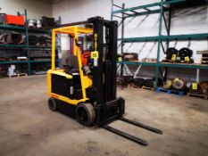 """HYSTER, E60XM2-33, 3500 LBS, FORKLIFT, 3 STAGE MAST, 211"""" MAX LIFT, SIDE SHIFT, CARTON CLAMP"""