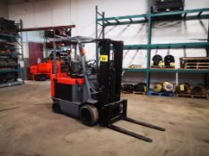 """TOYOTA, 7FBCU30, 3300 LBS , BATTERY POWERED FORKLIFT, 3 STAGE MAST, 218"""" MAX LIFT, SIDE SHIFT,"""
