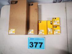 CATERPILLAR, 299D, SERVICE PARTS COMPRISED OF (1) CATERPILLAR, 110-6326, AIR FILTER, (1)