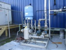 LOT: (2) 15 HP Water Pumps (for Inductotherm mainline furnace) (LOCATED IN COLUMBIANA, AL)