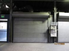 Vulcan Gas Fired Drying Oven, with Roll-up Door (LOCATED IN COLUMBIANA, AL)