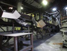 GK 36 in. x 45 ft. Shaker Conveyor (LOCATED IN COLUMBIANA, AL)