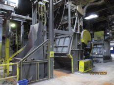 Wheelabrator No. 28 Super Tumblast Cleaning Machine, with Loader (LOCATED IN COLUMBIANA, AL)