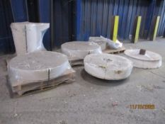 LOT: Assorted Furnace Push-out Bottoms (LOCATED IN COLUMBIANA, AL)