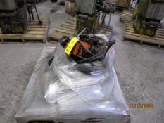 LOT: (5) 1/2 Ton Pneumatic Chain Hoists (LOCATED IN COLUMBIANA, AL)