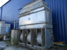 BAC Cooling Tower Model BF1-048-316, S/N U122266401-01, with New Parts (for Inductotherm mainline