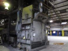 Wheelabrator No. 28 Super II Tumblast Cleaning Machine, with Hydraulic Load/Unload, GK 38 in. x 22