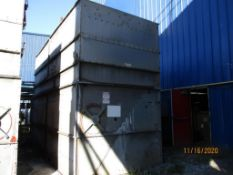 BAC 3-Fan Cooling Tower Model F1402-PX, S/N 97100513 (LOCATED IN COLUMBIANA, AL)