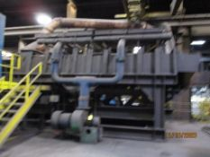 LOT: Gas Fired Scrap Pre-Heater with Blower, Inductotherm 4 ft. x 30 ft. Shaker Table (2018) (