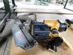 LOT: Pneumatic Coil Nailer & Framing Nailer