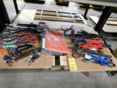 LOT: Assorted Shears & Hand Tools