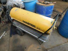 Torpedo Heater (in maintenance building)