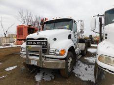2005 Mack Tandem-Axle Day Cab Truck Tractor Model CV713, VIN 1M1AG11405M022588, 12.0 Liter Diesel