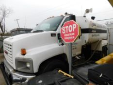 2005 GMC 2000 Gallon Tandem-Axle Water Truck Model C7500, VIN 1GDM7C1C75F515102, Diesel Power