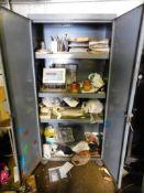 36 in. x 76 in. x 18 in. 2-Door Steel Cabinet, Contents not Included (Baler Building)
