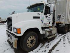 2009 Mack Tandem-Axle Day Cab Truck Tractor Model CHU613, VIN 1M1AN07Y89N004590, 12.7 Liter Diesel