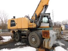 2013 Liebherr Solid Tire Material Handler Model LH50M, S/N 1203-68542 (#MH-69) (not in service,