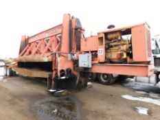 2008 R.M. Johnson 53 ft. Tandem-Axle Portable Car Crusher Model A+EZ Crusher (#C2) (Not in Service)