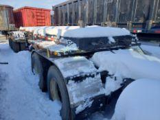 2006 Galbreath 50k lb. Tandem Axle Roll Off Trailer, VIN 1G9F127256A157672 (# 6-1)