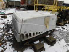 Ingersoll Rand Portable 185 CFM Diesel Air Compressor Model P185WJD (in maintenance building yard)