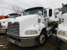 2008 Mack Tandem-Axle Day Cab Truck Tractor Model CXU613, VIN 1M1AW07Y08N001274, 12.7 Liter L6