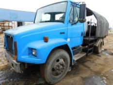 Freightliner 500 Gallon Fuel Truck Model F70, VIN1FV31HBA7RL585897 (No Title)