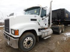 2009 Mack Tandem-Axle Day Cab Truck Tractor Model CHU613, VIN 1M1AN07Y59N004594, 12.7 Liter Diesel
