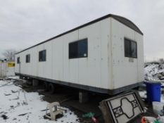 LOT: Office Trailer, with Contents (at end of yard)