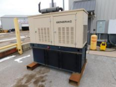 Generac Diesel Stand-By Generator Model 98A07400S, S/N SD025-A163, with Controls