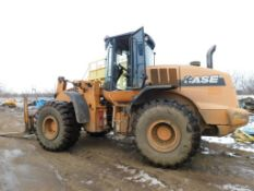 2009 Case Articulated Wheel Loader Model 821E, S/N N8F204980, with Bucket (#L-33)